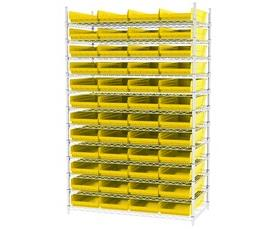 SHELF BIN WIRE SYSTEMS