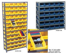 SHELF BIN UNITS -- COMPLETE PACKAGES