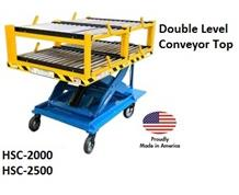 PONY EXPRESS HEAVY-DUTY MOTORIZED SCISSOR-LIFT CARTS